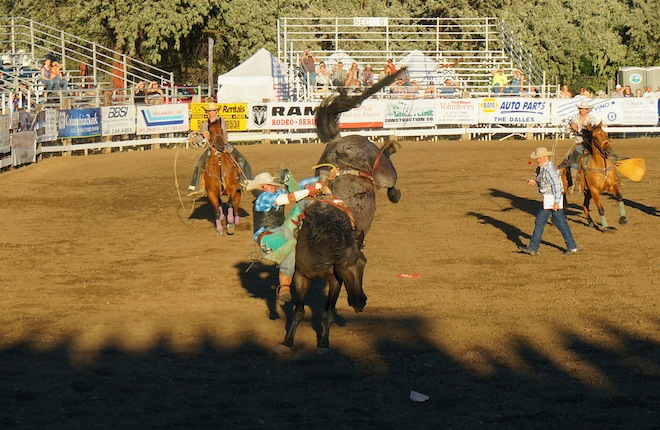 the dalles oregon rodeo23
