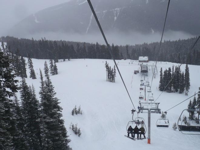 whistler bc canada snow
