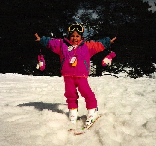 Me as a little munchkin in Vail, Colorado