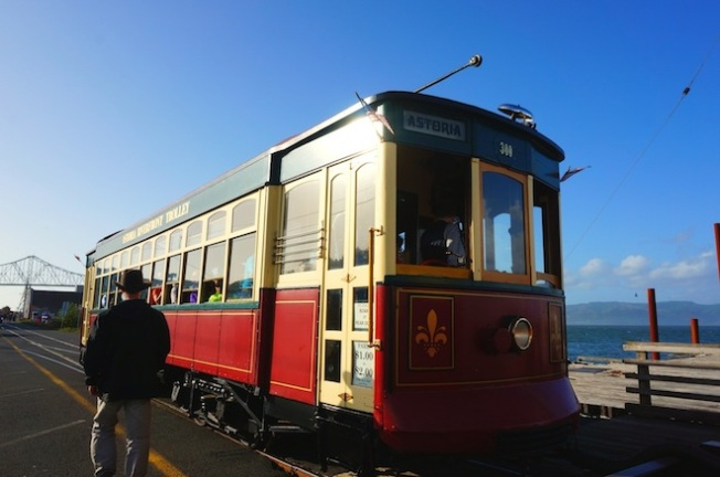 astoria oregon trolley