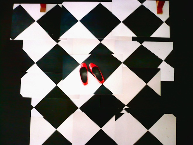 feet art hockney