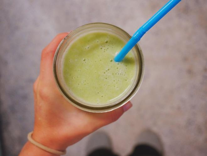 honeydew green smoothie