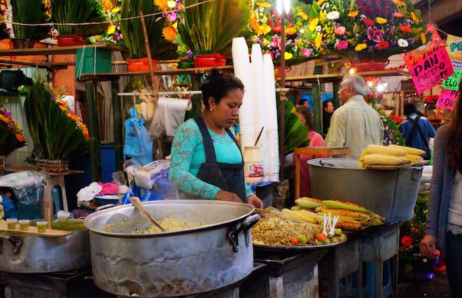 mercado de jamaica mexico food
