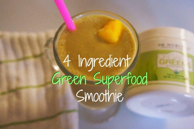 organic greens smoothie15