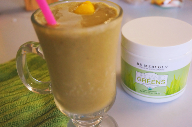 organic greens smoothie8