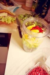 tropical celery smoothie