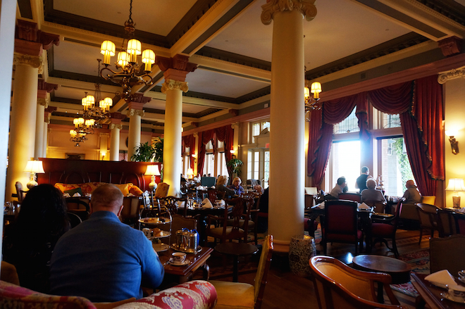 afternoon tea empress hotel victoria bc1