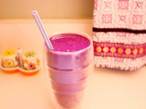 blueberry beet smoothie