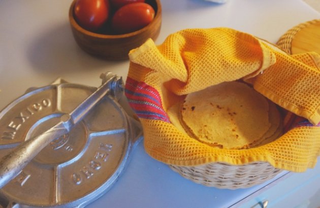 homemade corn tortillas14