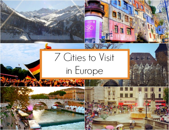 cities visit europe