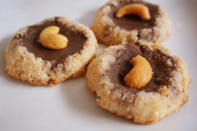 coconut cacao thumbprint cookies4