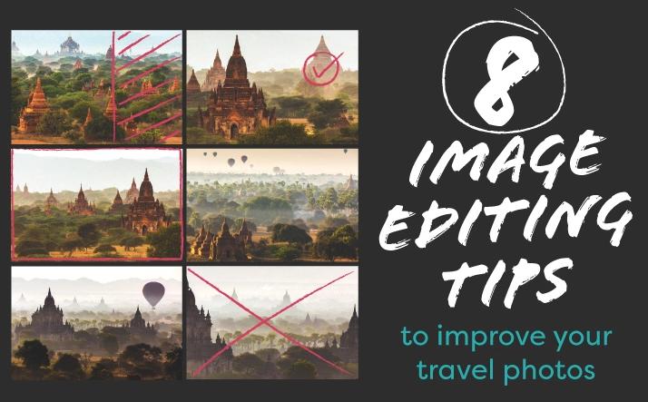 travel photos edit tips