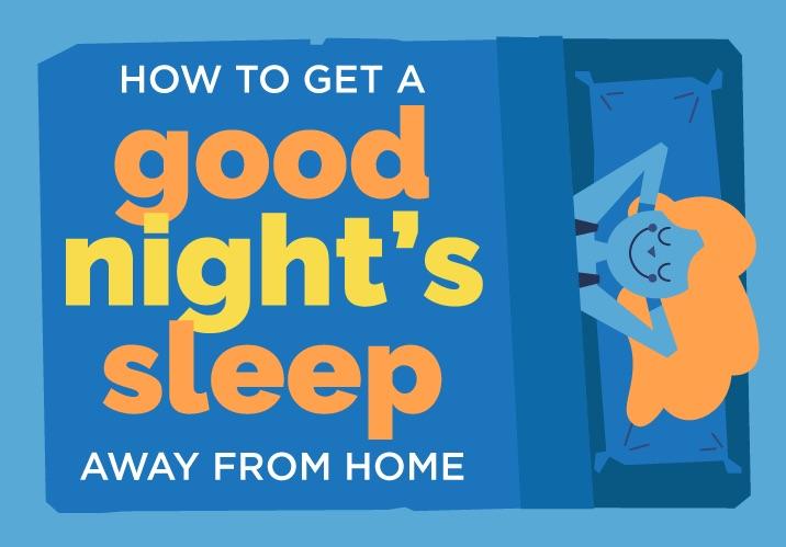 sleep away from home
