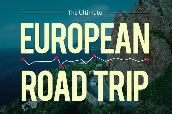 europe road trip info