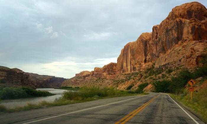 moab road utah