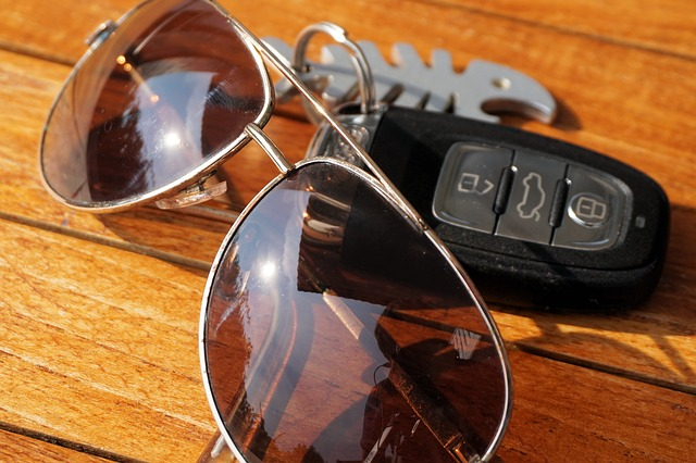 sunglasses glasses car keys